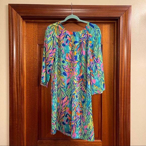 Lilly Pulitzer floral dress - size 10